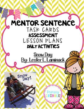 Mentor Sentence Snow Day