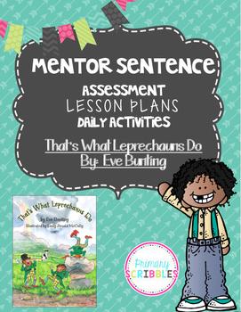 Mentor Sentence That's What Leprechauns Do