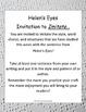 Literacy - Mentor Sentence Unit for Helen's Eyes