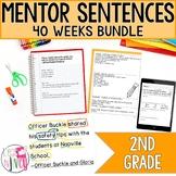 Mentor Sentence Units Bundle (Grade 2): 40 Weeks!
