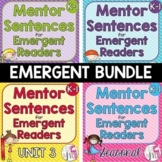Mentor Sentence Units Bundle (Grades K-1): 40 Weeks!