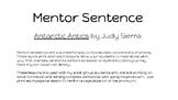 Mentor Sentence pronoun I in Antarctic Antics
