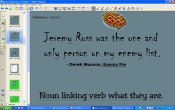 Mentor Sentences (1st 9 weeks)