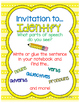 Mentor Sentences {1st Nine Weeks Teaching Posters and Lessons}