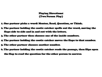 Mentor Sentences Activity 3rd, 4th, 5th Grade Grammar Game
