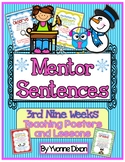 Mentor Sentences {3rd Nine Weeks Teaching Posters and Lessons}