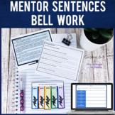 Mentor Sentences Bell Work Bell Ringers   FREE SAMPLE   Pr