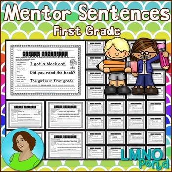 Mentor Sentences Bundle {First Grade}