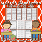 Mentor Sentences:  Capitals and Punctuation