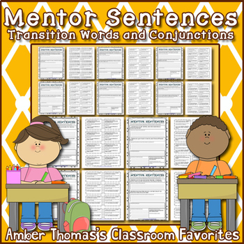 Mentor Sentences: Conjunctions and Transition Words by Amber Thomas