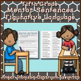 Mentor Sentences:  Figurative Language {Fifth Grade}