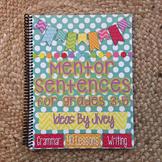 Mentor Sentences (Vol 1) for Grades 3-5 HARD COPY Book