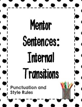 Mentor Sentences: Internal Transitions