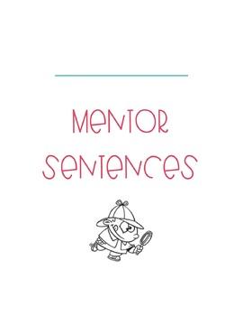 Mentor Sentences Journal