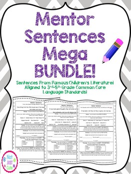 Mentor Sentences MEGA BUNDLE