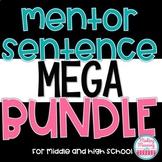 Mentor Sentences MEGA Bundle - Middle and High School - UPDATED