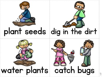 Mentor Sentences Mini-Unit: Spring Books for Early Emergent Readers