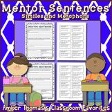 Mentor Sentences:  Similes and Metaphors {4th Grade} Print
