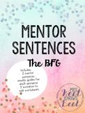 Mentor Sentences - The BFG