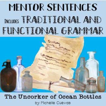 "Mentor Sentences - ""The Uncorker of Ocean Bottles"" by Michelle Cuevas"