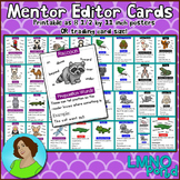 Mentor Sentences Trading Cards {First Grade}