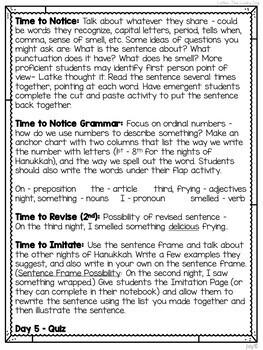 Mentor Sentences Unit: Celebrating Diversity (Grades 1-2)