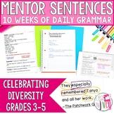 Mentor Sentences Unit: Celebrating Diversity (Grades 3-5)