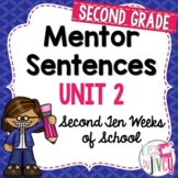 Mentor Sentences Unit: Second 10 Weeks (Grade 2)