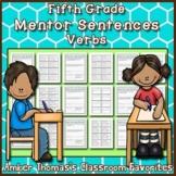 Mentor Sentences: Verbs {Fifth Grade}