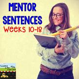 Grammar and Mechanics: Guided Sentences {Weeks 10-18}