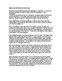 Mentor Sentences Weeks 16-20