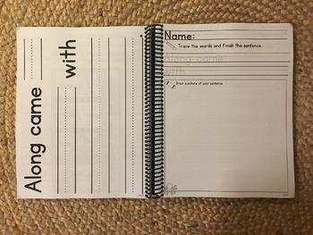 Mentor Sentences for Emergent Readers (K-1) HARD COPY Book