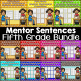 Mentor Sentences for Revising and Editing  {Fifth Grade Bundle}