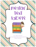 Mentor Text Labels