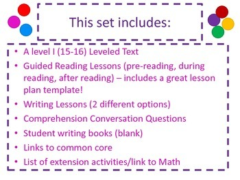 Mentor Text Lessons for Guided Reading and Writing!