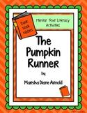 Mentor Text Literacy Activities - BNN The Pumpkin Runner