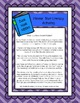 Mentor Text Literacy Activities - Book Nook Nibble - Thunder Cake
