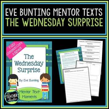 Mentor Text Moments:  The Wednesday Surprise by Eve Bunting