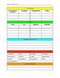 Mentor Text Planner