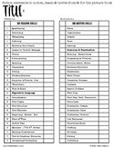 Mentor Text Teaching Points - Master List