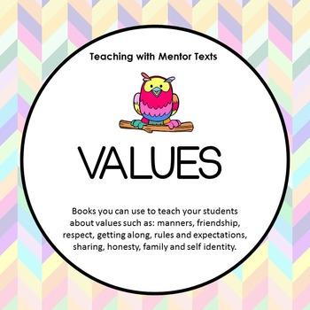 Mentor Text Values Unit
