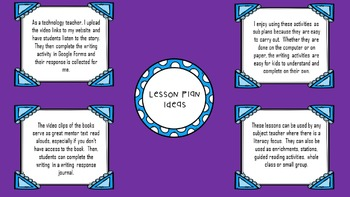 Mentor Text with Writing Activities- Character Education Skills