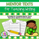 Opinion, Narrative and Informational Writing Examples - Co
