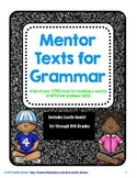 Mentor Texts for Teaching Grammar Skills