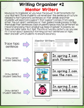 Mentor Writers: It's Spring Edition