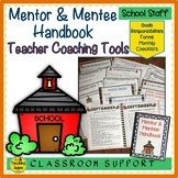 Mentor and Mentee Handbook for New and Probationary Teachers