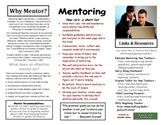 Mentoring Beginning Teachers Pamphlet by Jennifer A. Gates