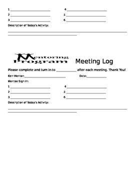 Mentoring Program Forms