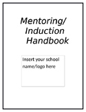 Mentoring and Teacher Induction Handbook