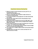 Story Introduction Mentor Sentences to Imitate and Improve Writing (1)
